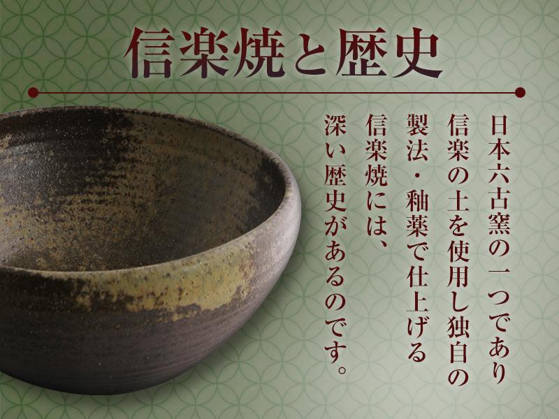 バナー「信楽焼と歴史」